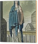 Sybil, Illustration From Lantique Rome Wood Print