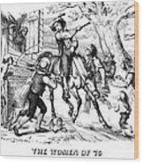 Sybil Ludington, 1776 Wood Print