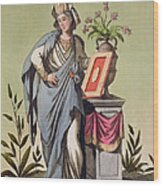 Sybil Of Cumae, No. 16 From Antique Wood Print