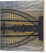 Sydney Harbour Late Afternoon Wood Print