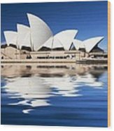 Sydney Icon Wood Print by Avalon Fine Art Photography