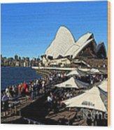 Sydney Opera House Bar Wood Print