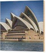 Sydney Opera House V10 Wood Print