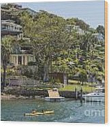 Sydney Seaside Villas Three Wood Print