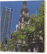 Sydney Town Hall Wood Print