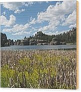 Sylvan Lake Wood Print