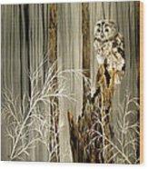 Sylvan Wings Wood Print