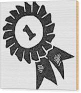 Symbol Achievement Wood Print