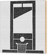 Symbol Guillotine Wood Print