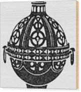 Symbol Incense Burner Wood Print