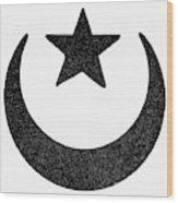 Symbol Islam Wood Print