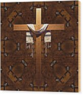 Symbol Of Faith Wood Print