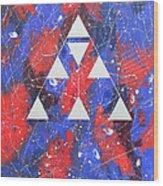 Symbol Of Faith 2001 Wood Print