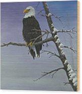 Symbol Of Freedom Wood Print