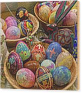 Symbols Of Easter- Spiritual And Secular Wood Print by Gary Holmes