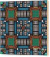 Symmetrica 300 Wood Print