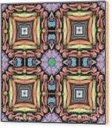 Symmetrica 338 Wood Print
