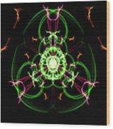Symmetry Art 5 Wood Print