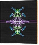 Symmetry Art 7 Wood Print