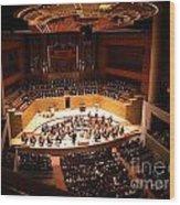 Symphony Orchestra Wood Print