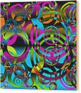 Synchronicity 3 Wood Print