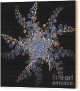 Synchronized  By Jammer Wood Print