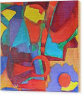 Syncopated Wood Print by Diane Fine