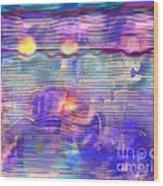 Synesthesia 3 Wood Print