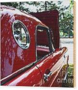 Vintage Car - Opera Window T-bird - Luther Fine Art Wood Print