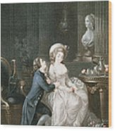 T.2342 Lamant Ecoute, 1775 Wood Print