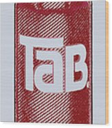 Tab Ode To Andy Warhol Wood Print