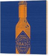 Tabasco Sauce 20130402grd2 Wood Print