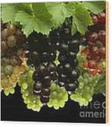 Table Grapes Wood Print by Craig Lovell