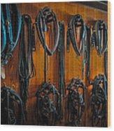 Tack Room Wood Print