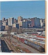 Tacoma City Wide View Wood Print