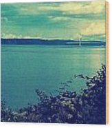 Tacoma Narrows  Wood Print