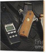 Tactical Gear - Gun  Wood Print