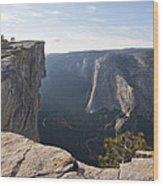 Taft Point Yosemite Wood Print