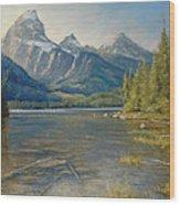 Taggart Lake Shallows Wood Print