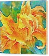 Taglilie Wood Print