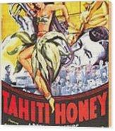 Tahiti Honey, Us Poster, From Left Wood Print