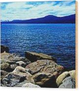 Tahoe Magic Wood Print