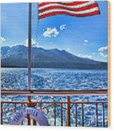 Tahoe Queen Lake Tahoe By Diana Sainz Wood Print