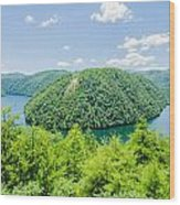 Tail Of The Dragon Scenic Road In Great Smoky Mountains Wood Print