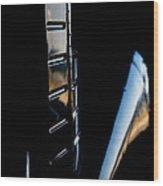 Tail Reflection Wood Print