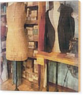 Tailor - A Pair Of Dummies Wood Print