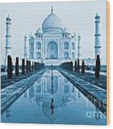 Taj Mahal - Agra - India Wood Print