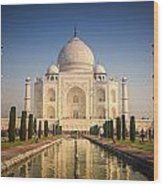 Taj Mahal 1 Wood Print