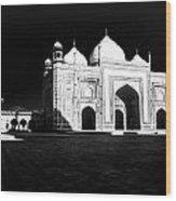 Taj Mahal Agra Wood Print