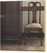 Take A Seat Wood Print by Margie Hurwich